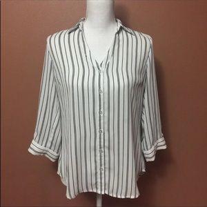 BCX Striped Shirt